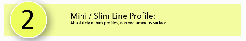 Mini / Slim Line Profile